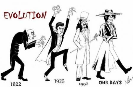 Эволюция дракулы